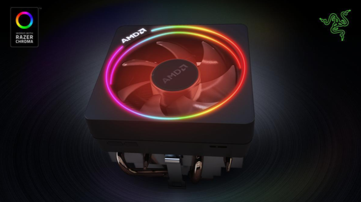 Synch your AMD Wraith Prism cooler with Chroma Connect